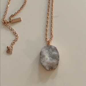 Jewelry - Rose gold Geode necklace